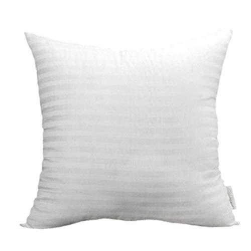 DierCosy Tools Fundas de Almohada Pura del Cuadrado del Color del sofá Tire de la Cubierta de algodón poliéster de Pillowslip para la decoración del hogar 35 * 35cm