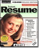 Instant Resume 4-CD Set Deluxe Edition