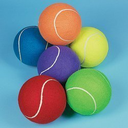 Fun Express Jumbo 20,3cm Tennis Ball (Receive 1per Order) Colori Assortiti