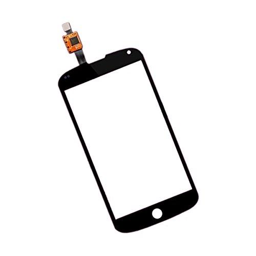 BisLinks® Schwarz Touchscreen Digitizer Ersatzteil FR LG E960?Google Nexus 4