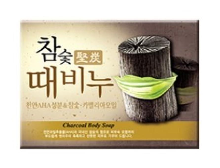 質素な呼び出す学校堅炭ソープ 100g / Charcoal Body Soap [並行輸入品]