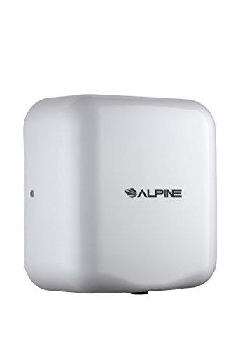 Alpine Hemlock Stainless Steel Commercial Hand Dryer - Heavy Duty High Speed Automatic Hand Dryer -...