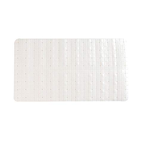 DIYARTS Zachte Badkuip Mat Meerdere Zuignappen Anti-slip Waterdicht PVC Materiaal Bad Pat Driedimensionale Vierkante Rechthoek voor Thuis Badkamer Toilet