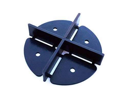 Croce per fughe con distanza tra le fughe 2 mm, 3 mm, 5 mm, 20 pezzi, dimensioni speciali per terrazze da giardino, piastrelle da terrazzo, distanziatori per piastrelle (3 mm)