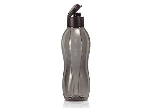 Tupperware Large Eco Water Bottle/jet Black 36-oz./1 L Capacity by Tupperware