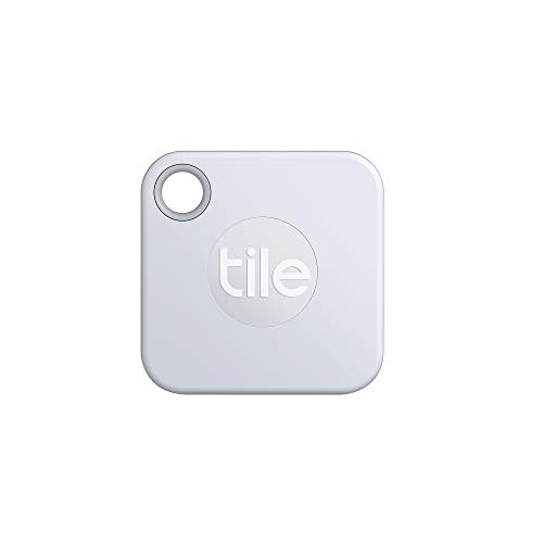 Tile Mate (2020) Bluetooth Item Finder, 4 Pack, White. 60m finding range, 1 year replaceable battery, works with Alexa and Google Home. iOS and Android Compatible. Find your Keys, Remotes & More.