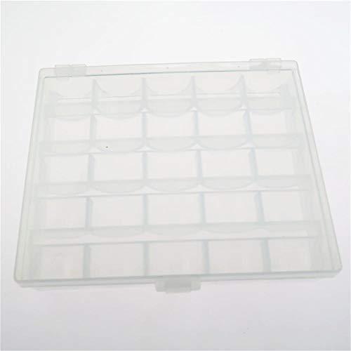 Plastic Organizer Box met 25 Grids Clear opbergdoos voor parels sieraden Letter Board brieven visapparatuur