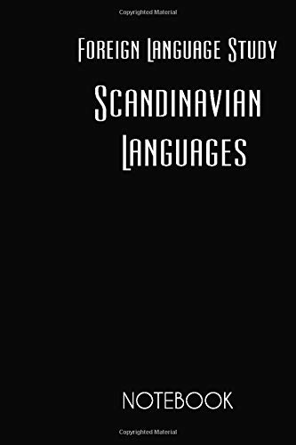 Compare Textbook Prices for Foreign Language Study Scandinavian Languages Notebook: Lined Notebook / Journal / Diary, Notebook Writing Journal ,6x9 dimension 120pages  ISBN 9781696518451 by Remshavin, Andrey