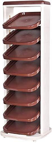 Carl Artbay Schoenenorganisator/kunststof voor de woonkamer, vloer, roterende schoenenkast badkamerdeur-plastic, voor kinderen