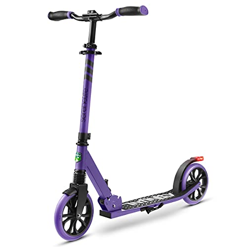 Folding Kick Scooter for Adults and Kids – Boys and Girls Freestyle...