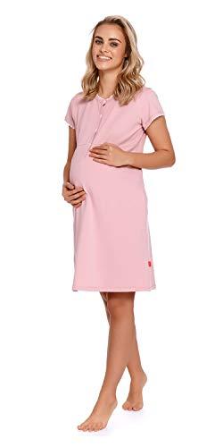 Doctor Nap - Camisón de maternidad para mujer, para hospital, para embarazo y maternidad azul S