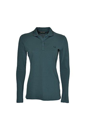 Fred Perry Damen Poloshirt Blau blau Large