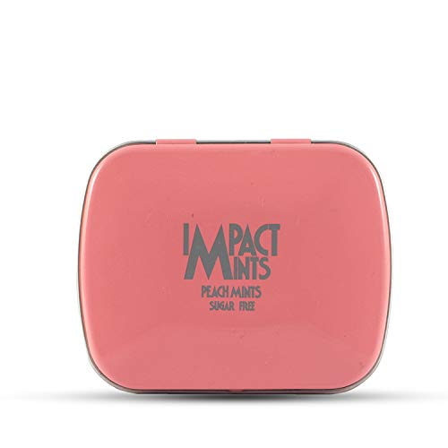 Impact Mints Sugar-Free Mint, Peach, 14g