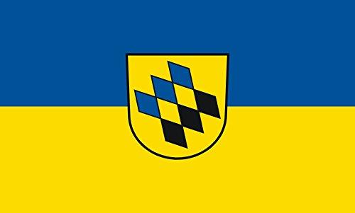 Unbekannt magFlags Tisch-Fahne/Tisch-Flagge: Kernen im Remstal 15x25cm inkl. Tisch-Ständer