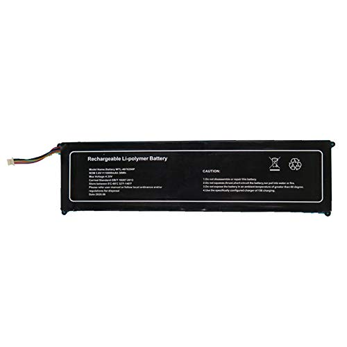 RTDpart Batería de portátil para YEPO 737T6 15.6 WTL-4070290P 3.8V 10000mAh 38WH 5PIN Nuevo