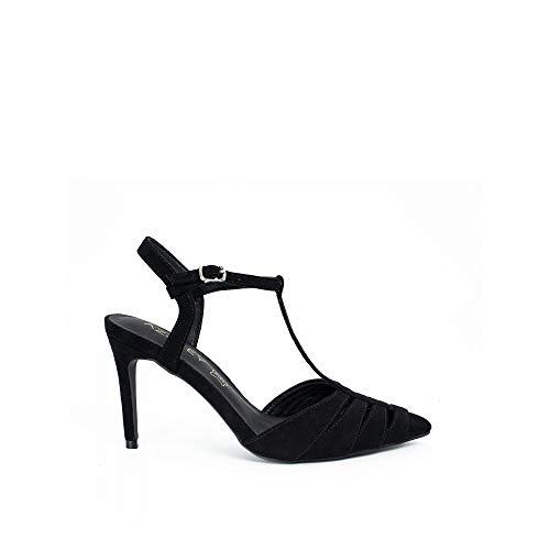 Zapato de tacón Destalonado Negro - 37, Negro