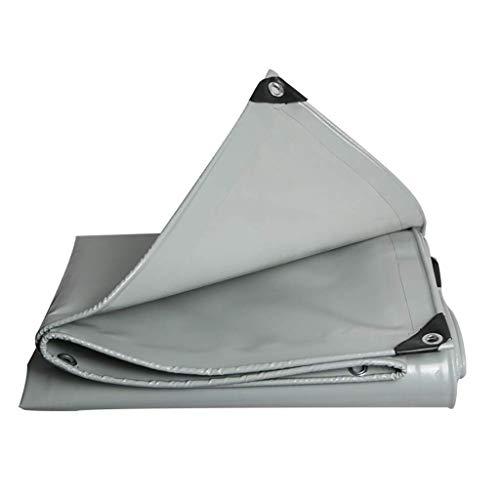 WZF wasserdichte Multifunktionsplane, Regenschutzplane, gepolsterte Sonnencreme und Winddichte Outdoor-Campingplane, geeignet für Camping, Gartenarbeit, Dachbedeckung-600g / M2 (Größe: 3m 4m)