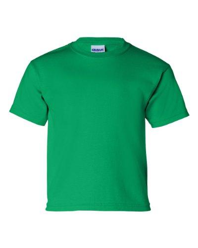 Gildan T-Shirt en Coton Youth 6oz. G200b Gris Anthracite Taille XS - Gris - Small
