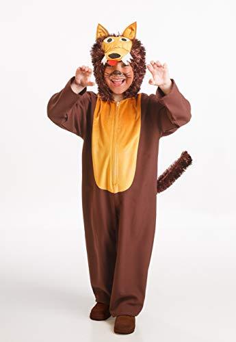 Disfraz de Lobo Niño Talla 2-3 Años