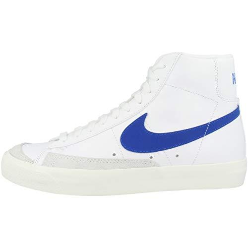Nike Blazer Mid '77 VNTG, Zapatillas de básquetbol Hombre, Vela Blanco Racer Azul, 44.5 EU