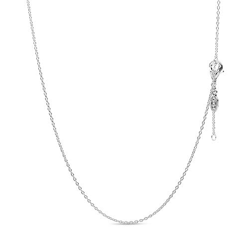 Jewelry Silver Classic Chain Sterling Silver Necklace, 17.7""