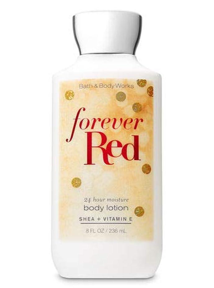 敬意故意の経過【Bath&Body Works/バス&ボディワークス】 ボディローション フォーエバーレッド Super Smooth Body Lotion Forever Red 8 fl oz / 236 mL [並行輸入品]