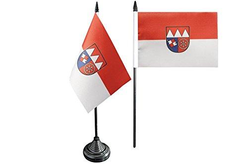 Flaggenfritze® Tischflagge Deutschland Unterfranken - 10 x 15 cm