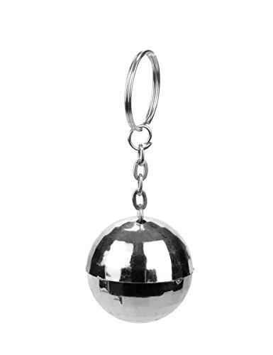 Party Pro Vegaoo - Discokugel-Schlüsselanhänger - Einheitsgröße
