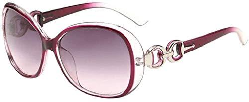 MaoDaAiMaoYi Metallrahmen Verspiegelt Linse Herren Damen Sonnenbrille Mode Living Polarisierte Sonnenbrille Uv400 Retro Vintage Brille Für Herren Und Damen (Color : H, Size : Size)