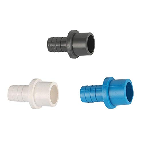 Air Con Pipe Hose Quick Connector Hard Tube Plastic Pagoda Joint Garden Irrigation PVC Pipe Garden Hose Water Quick Connectors 25mm to 16mm (Color : Grey)