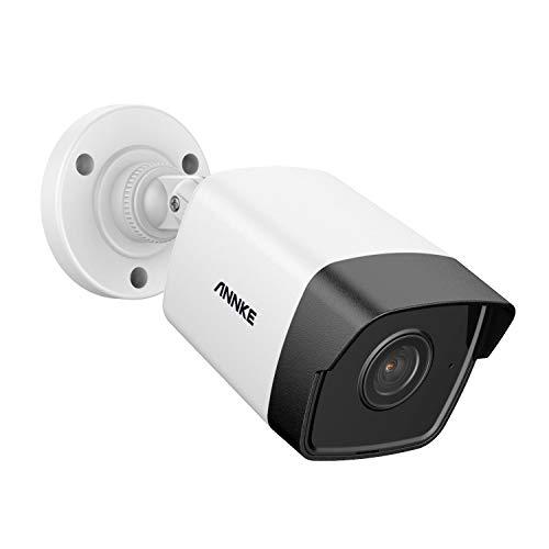 ANNKE C500 Bullet 5MP POE Telecamera IP di Sicurezza CCTV per Sistema di Sorveglianza NVR 100ft/30m Super Night Vision Funziona con il Software Thrid e ONVIF IP67 Waterproof