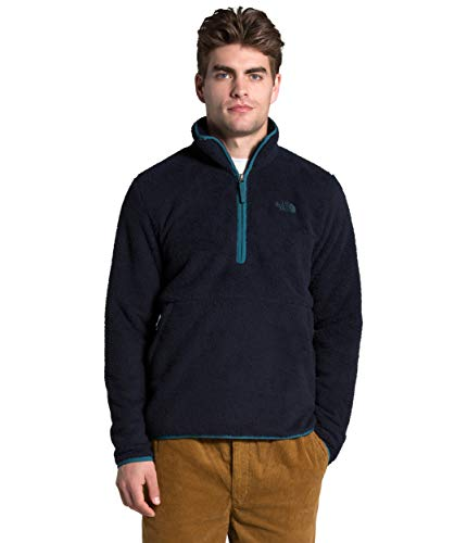 The North Face Men's Dunraven Sherpa ¼ Zip, Aviator Navy, S