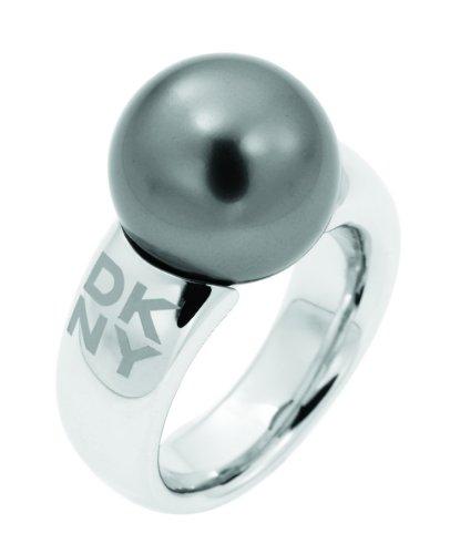 DKNY NJ1352 - Anillo de Mujer de Acero Inoxidable (Talla: 10)