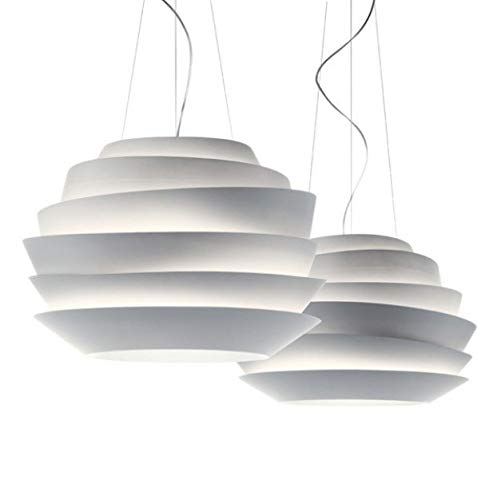 5151BuyWorld Lamp Le Soleil Foscarini Wave-White Startskant Rose Lamp hanglamp hanglamp ontworpen door Vicente Garcia Jimenez diameter 63 cm {}