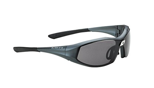 Swiss Eye Sportbrille Concept M Re+, Grey Blue Metallic Matt, One Size, 12522