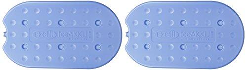 EZetil Extra Flat 2er-Set Kühlakku G430, mit 2 x 385g Kühlelementen für die Kühltasche Oder Kühlbox, zum kühlen von Speisen und Getränken, türkis