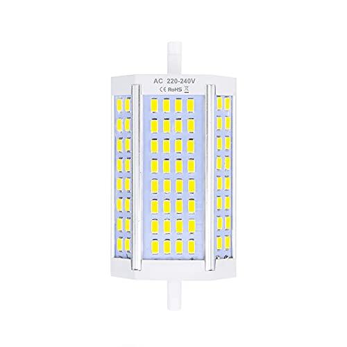 Lustaled 30W R7s 118mm Ampoule LED Dimmable J118 Blanc Froid 6000K projecteur double extrémités équivaut à ampoule halogène 300W pour maison, salon, balcon, bureau, hôtel, restaurant, etc(1pcs)