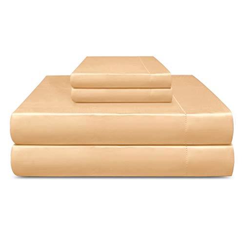 "Adriana Tivoli 100% Cotton 800TC Sheet Set Extra-Long Staple Sateen Weave Cotton 18"" Deep Pocket Luxury Bedding"