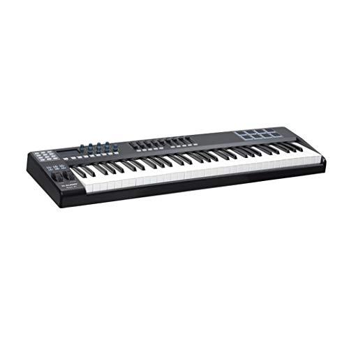 Controlador De Teclado MIDI Compacto De 61 Teclas Alimentado Por USB...