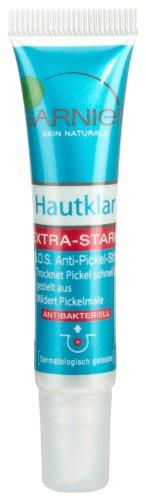 Garnier Hautklar S.O.S. Anti Pickel Stift, Soforthilfe gegen Pickel mit Zink und Salicylsäure, transparent (1 x 10 ml)
