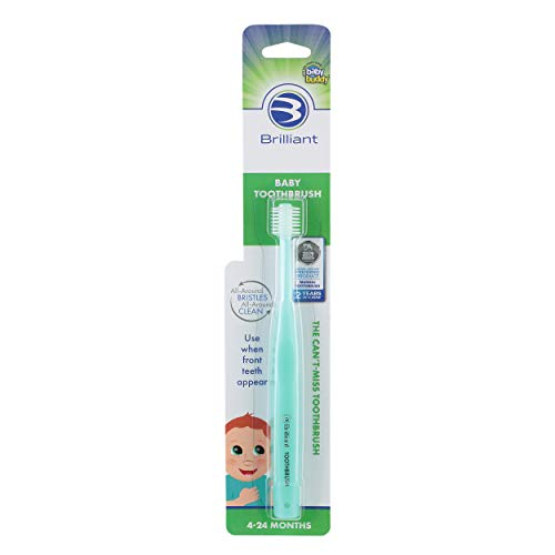 Baby Buddy 360 Toothbrush Step 1, Mint by Baby Buddy