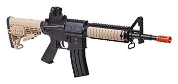 GAME FACE GFR37 Elite Renegade Spring-Powered Single-Shot Airsoft Rifle Dark Earth/Black