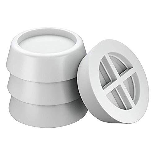 FADDARE Almohadillas para los pies de la lavadora, 4 unidades, almohadillas de goma, amortiguador de vibraciones, para secadora, lavavajillas, antideslizante, amortiguador de vibraciones