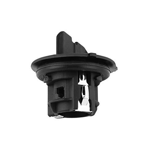 Mazur indicador de Coche Adaptador de portalámparas Adaptador de luz de Coche Conversión de Base Fit fit Peugeot 207, 307, 407, 807 (Negro)