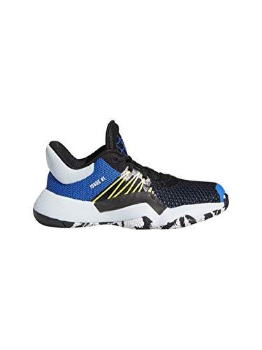 Adidas - Scarpa da basket D.O.N. Issue 1, da bambino, colore: Blu, Multicolore (multicolore), 33 EU