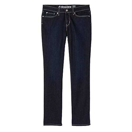 Denizen Misses Jeans Straight Leg MId-Rise Essential Stretch (8, Zephyr)