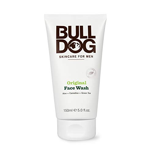 Bulldog Mens Skincare and Grooming Original Face Wash, 5 Ounce