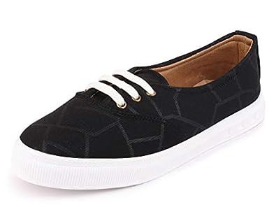 FAUSTO Women's Canvas Sneakers