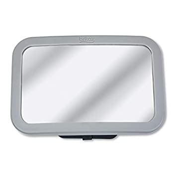 Britax Baby Car Mirror for Back Seat - XL Clear View - Easily Adjusts - Crash Tested - Shatterproof