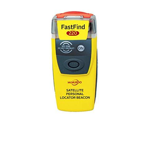 McMurdo 91001220A Balise de détresse personnelle Fast Find...